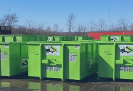 Dumpster sizes available at Bin There Dump That Ch